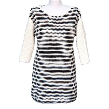 By Malene Birger Knitted sweater in black / white