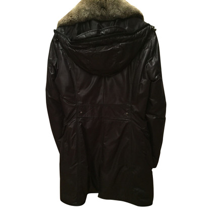Peuterey Down parka with real fur collar
