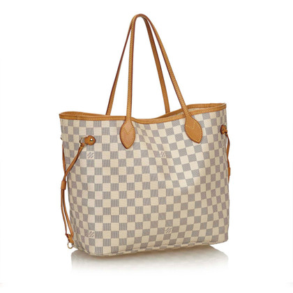 "Louis Vuitton ""Neverfull MM Damier Azur Canvas"""
