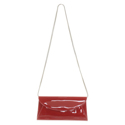 L.K. Bennett Patent leather clutch