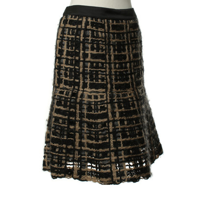 Etro structured skirt
