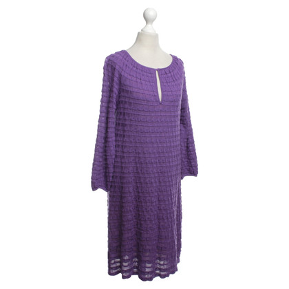 Missoni Gebreide jurk in Purple