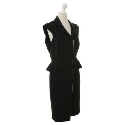 Karen Millen Peplum dress in black
