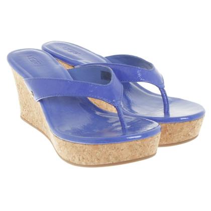 UGG Australia Wedge sandals in blue