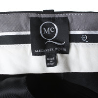 McQ Alexander McQueen trousers in black