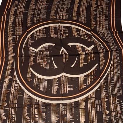 Chanel Kasjmier sjaal met print