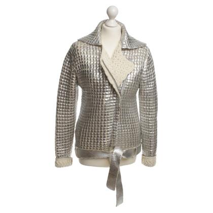 Jet Set Zilveren jas