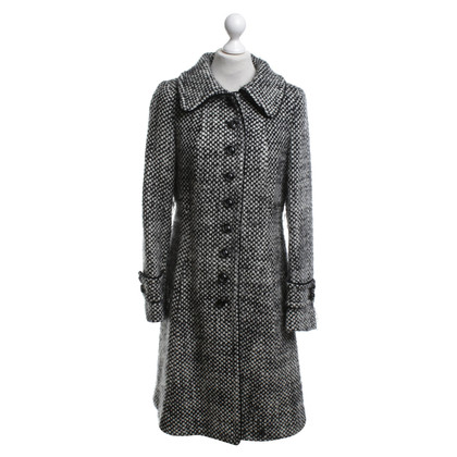 Max Mara Coat in black and white