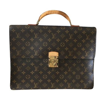 Louis Vuitton Office bag in monogram of canvas