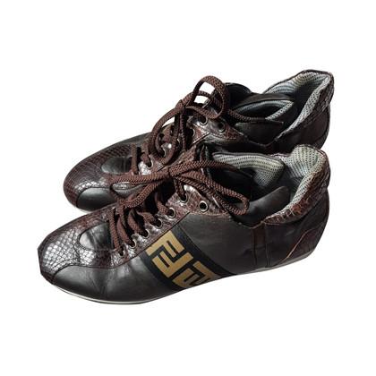 Fendi Sneaker in Brown