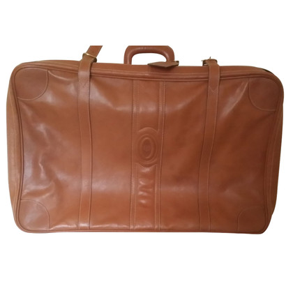 Pollini Leather suitcase