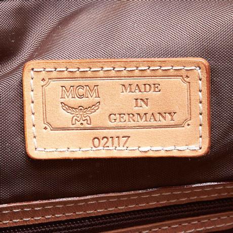 MCM Schultertasche Braun Fabrikpreis Online-Shop pEZ53