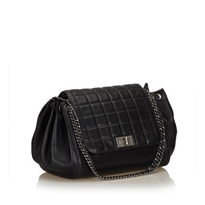 """Chanel """"Bar Accordion Flap Bag Choco"""""""