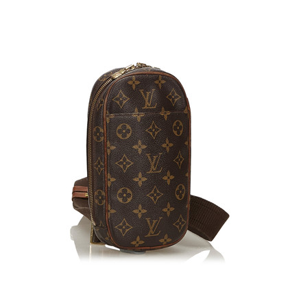 "Louis Vuitton ""Pochette Gange Monogram Canvas"""
