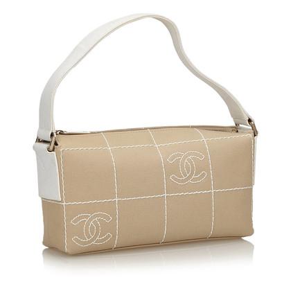 Chanel Borsa a tracolla fatta di tela