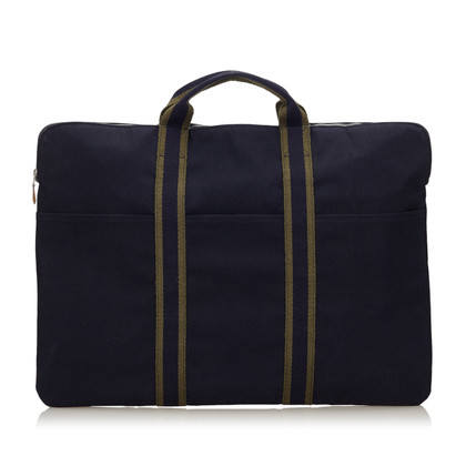 Hermès Document Tas in blauw
