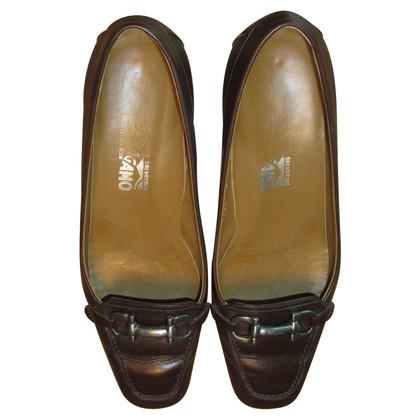 Salvatore Ferragamo Slipper in brown