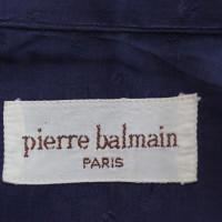 Pierre Balmain Chemise bleu pois Pierre Balmain