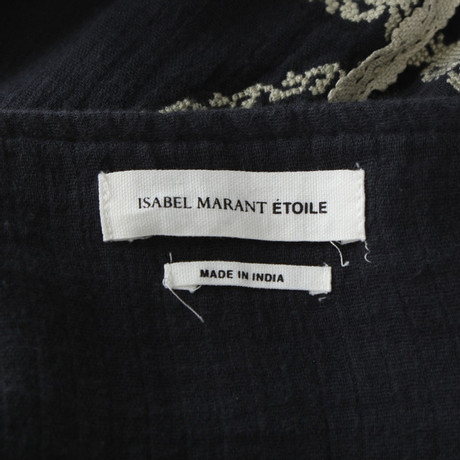 Isabel mit Marant Blau Stickerei Isabel Rock Etoile Marant 4qZw5W