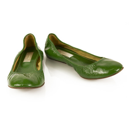 Lanvin Ballerinas in green