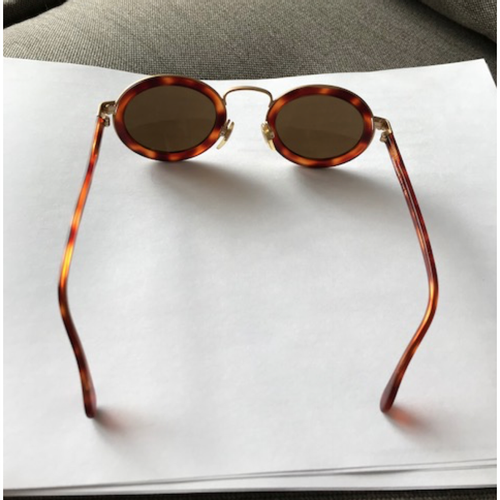 779f96875b6f Giorgio Armani Vintage sunglasses round - Second Hand Giorgio Armani ...