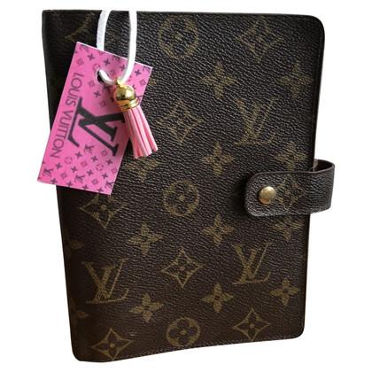 """Louis Vuitton """"Agenda Fonctionnel MM"""" Monogram Canvas"""