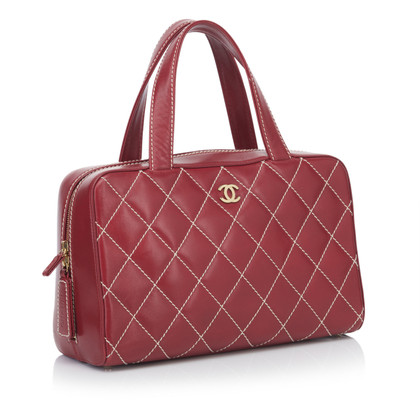 Chanel Handtas in rood