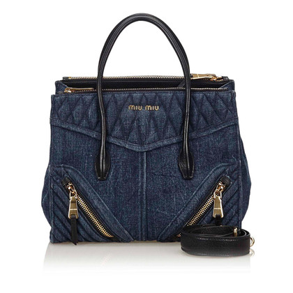 Miu Miu Handtasche aus Denim