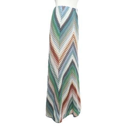 Missoni Lange rok in multicolor