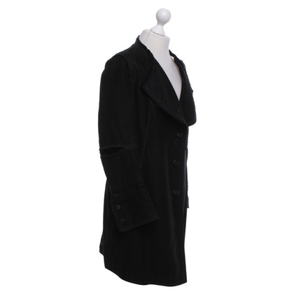 Marithé et Francois Girbaud  Coat in black