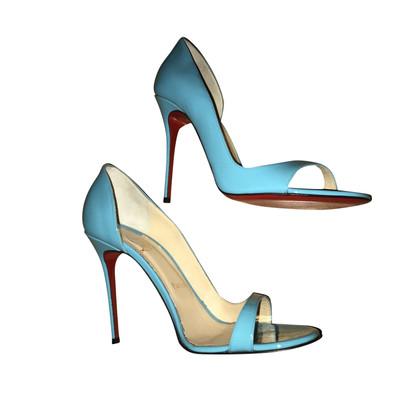 Christian Louboutin pumps en bleu