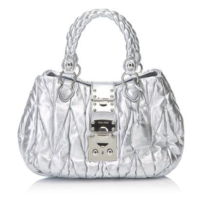 Miu Miu borsa color argento