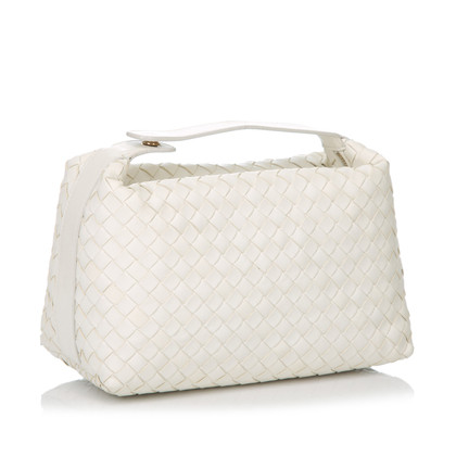 Bottega Veneta Leather Intrecciato Handbag