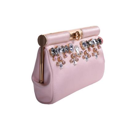 Dolce & Gabbana clutch con finiture di strass