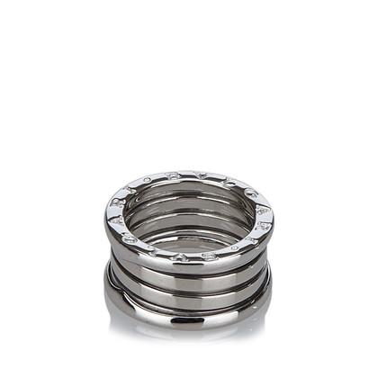 "Bulgari ""Three Band Ring"" in 18K white gold"
