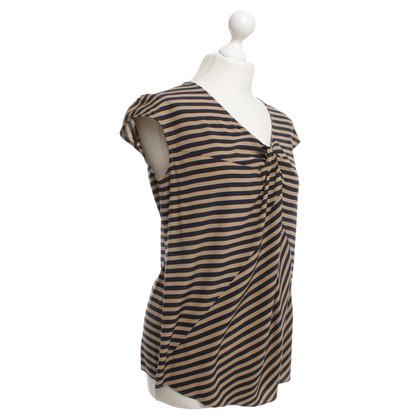 Laurèl Top with stripe pattern
