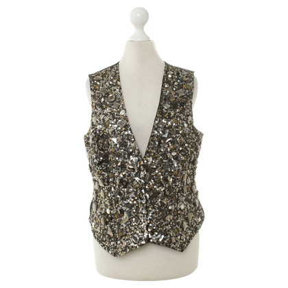 Other Designer Malvin - vest with sequin trim