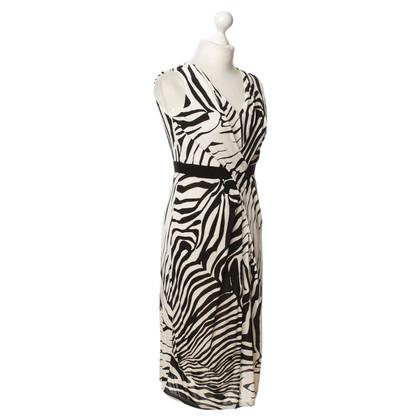 Max Mara Zebra patroon jurk