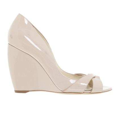 Rupert Sanderson Wedges in Nude