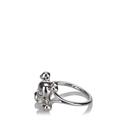 "Christian Dior ""Tete de Mort Diamond Ring"""