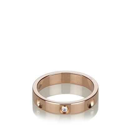 "Louis Vuitton ""Alliance Empreinte"" ring"