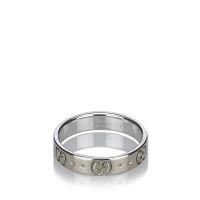 gucci anello con logo in rilievo compra gucci anello con