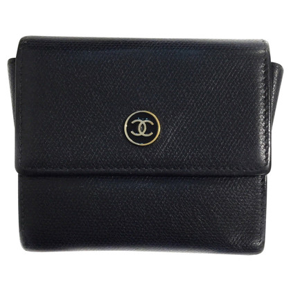 Chanel Portemonnaie in Schwarz