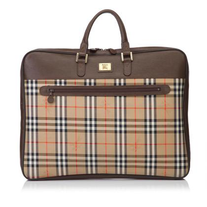 Burberry Garment tas met Nova patroon van de controle