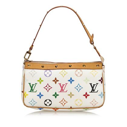 "Louis Vuitton ""Pochette Accessories Monogram Multicolore Canvas"""