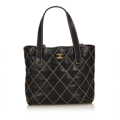 "Chanel Leather ""Surpique Tote"""
