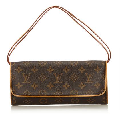 "Louis Vuitton ""Pochette Twin Monogram Canvas"""
