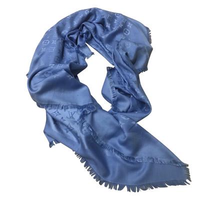 Louis Vuitton Stole blauw Monogram