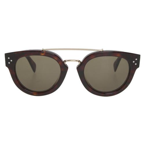 a2f61b2a5f5 Céline Sunglasses in Brown - Second Hand Céline Sunglasses in Brown ...
