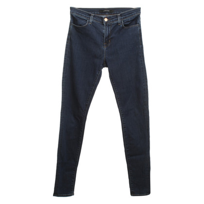J Brand Skinny-jeans blu